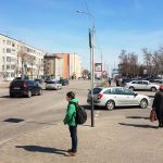 световые короба по ул. Хатаевича (сторона А)