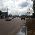 Билборд по ул. Борисенко 15 (сторона А)