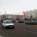 Билборд на ул. Междугородняя / перекрестке пр-т Речицкий (сторона А)