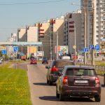 Билборд по ул. Мазурова 73 (перекресток возле АЛМИ) (сторона А)