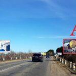 Билборд по ул.Луначарского №4, новостройки Романовичи, Красный Маяк (сторона А)