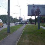 Билборд на Речицком проспекте (Сосновая) Гомель А