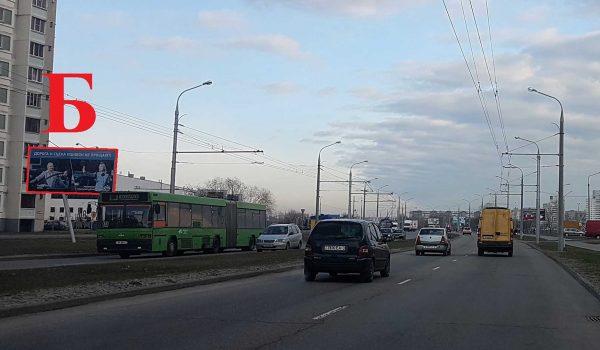 ул.Мазурова, р-н «Ледового дворца» (Б)