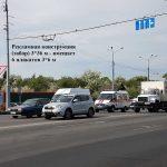 """Рекламный забор по ул. Барыкина (перекресток """"ЗИПа"""") 3*36 метров (6 рекламных полей 3*6 м)"""