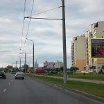 Билборд по ул. Мазурова 117 корп.Б (Сторона А)