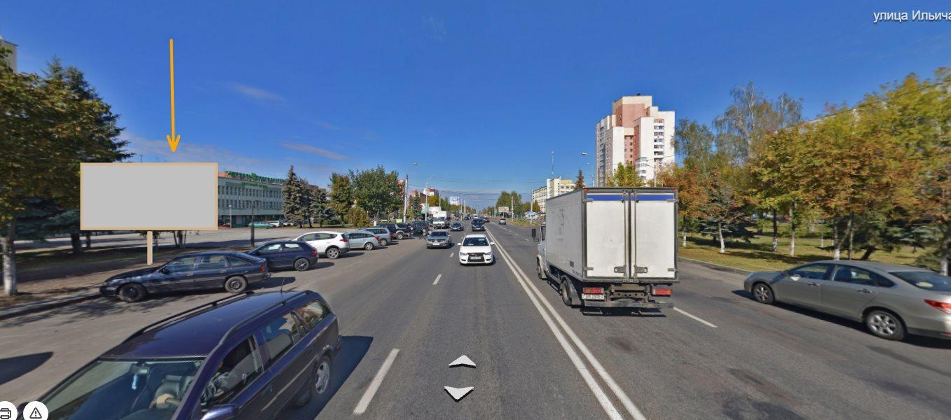 Биборд по ул. Ильича, поворот на «3-я Городская больница» (Б)