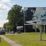 Билборд по пр-ту Космонавтов / ул. Могилевская (кольцо въезд в Гомель из Минска) (сторона А)