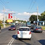 Билборд по ул. Барыкина (сторона Б)