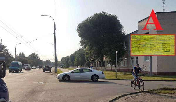 Билборд по ул.Барыкина, 155 «Прогресс» (сторона А)
