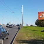 """Билборд по ул. Полесская, 72 (""""МОСТ"""") сторона А"""