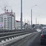 мост Фрунзе Б билборд Гомель