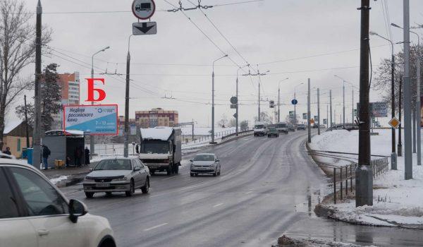 мост ул.Полесская, остановка «Никольская Церковь» (Б)