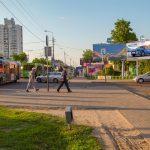 Билборд на пересечении ул. Ильича / ул. Ленинградская (сторона А)