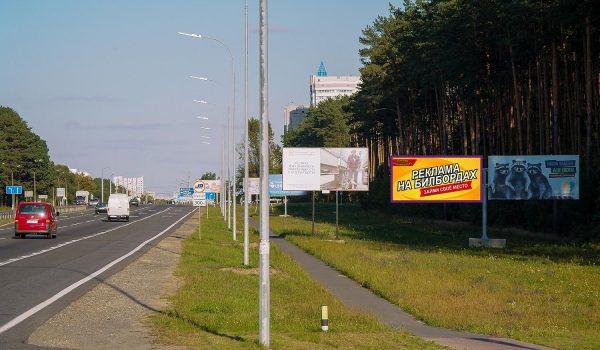 Билборд по Речицкому шоссе, подъезд №3 к Гомелю (сторона А1)