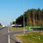 Билборд по Речицкому шоссе, подъезд №3 к Гомелю (сторона А2)
