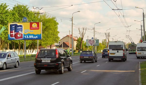 билборд по ул. Ильича 98А (1я гор. поликлиника) (сторона Б)
