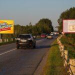 Билборд по ул.Луначарского №3, новостройки Романовичи, Красный Маяк