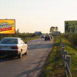 Билборд по ул.Луначарского №3, новостройки Романовичи, Красный Маяк (сторона Б)