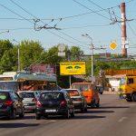 Билборд на перекрёстке Полесская-Космонавтов-Хмельницкого