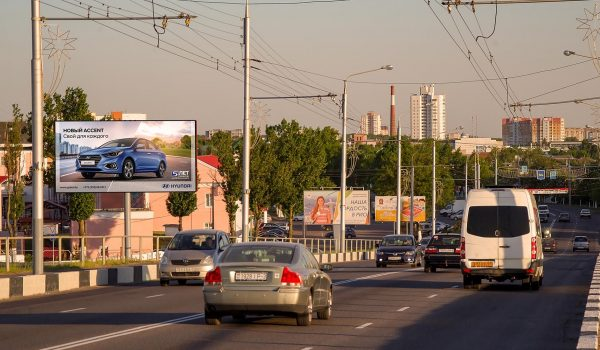 Билборд по ул.Ильича въезд в Новобелицу 2 (сторона Б)