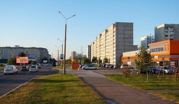 "Билборд по ул. Косарева (магазин ""Соседи"") (Сторона Б)"