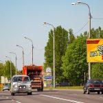 Билборд по ул. Свиридова (сторона А)