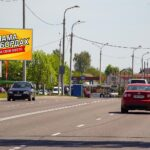 Билборд по ул. Свиридова 25 (АП №6) (Сторона Б)