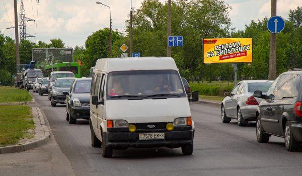 Билборд по ул. Владимирова / ул. Бочкина (сторона А)