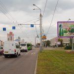 Билборд на перекрестке пр-т Речицкий / ул. Междугородняя (сторона А)