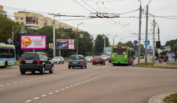 Билборд на пересечении пр-та Речицкий /ул. Междугородняя (Б)