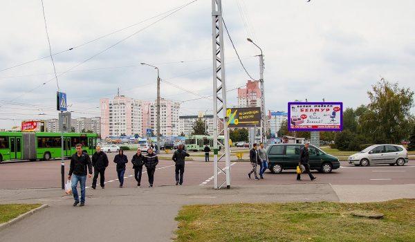 пр-т Речицкий / ул. Междугородняя (Рынок) (А)