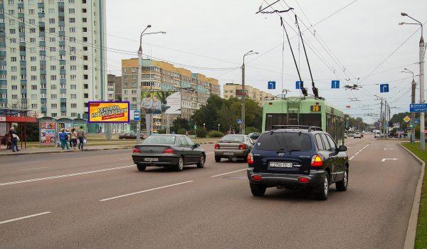 Билборд на ул. Междугородняя / перекрестке пр-т Речицкий (сторона Б)