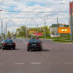 Билборд по ул. Крупской / ул. Лепешинского (сторона А)
