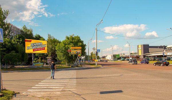 Билборд по ул.Борисенко / ул.Междугородняя — Строймаркет «КСК»