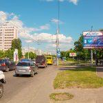 Билборд по ул. Барыкина / ул. Космическая (Сторона А)