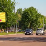 Билборд по ул. Борисенко 15А (сторона Б)