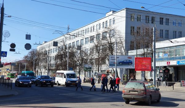 малый щит 3х4 ул.Интернациональная пр.Ленина ост. «Коминтерн» (сторона А)