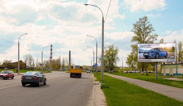 Билборд по ул. Лепешинского , 1 (сторона А)