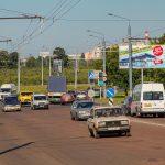 Билборд по ул. Могилевская/ул. Текстильная (сторона А)