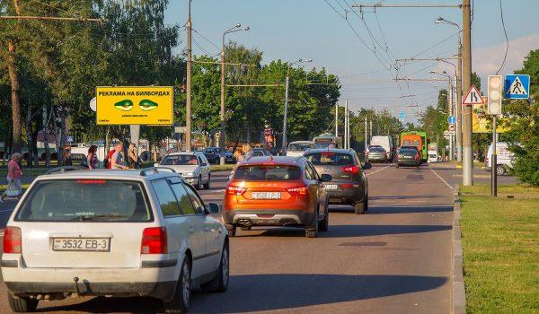 Билборд по пр. Речицкий / ул. Сосновая (сторона Б)