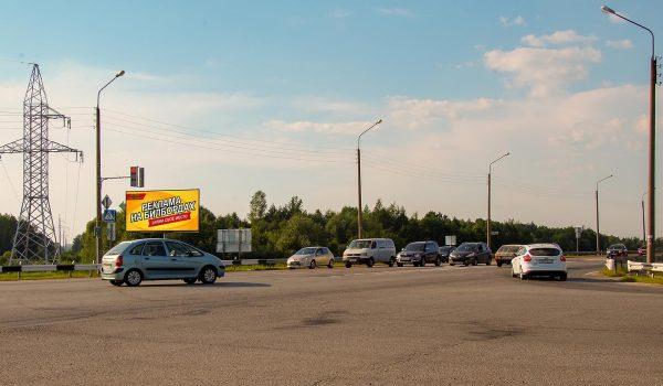 Билборд на перекрестке пос. Ченки — ул.Зайцева (сторона Б)
