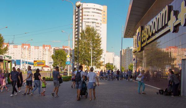 Билборд на пересечении ул. Свиридова-ул. Чечерская (сторона А)