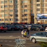 Билборд по ул. Хатаевича, «ЕВРООПТ» — парковка (Сторона А)