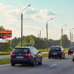 Билборд по ул. БA.Хмельницкого (въезд на мост) (Сторона Б)