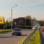 Билборд по ул.Зайцева (въезд в Новый район «Хутор») (Сторона Б)