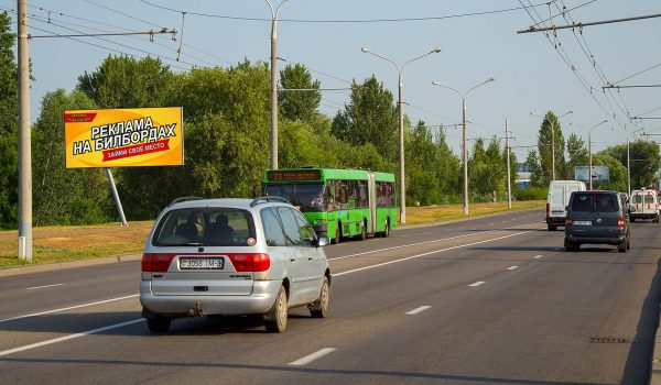 Билборд по ул. Мазурова (сторона Б)