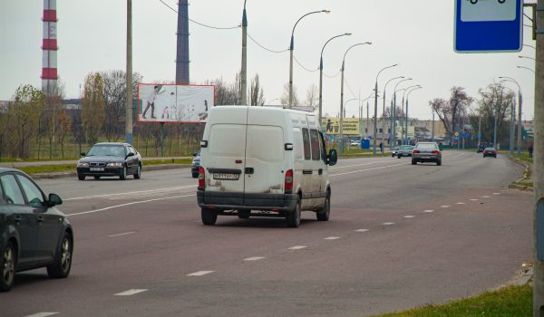 Билборд по ул. Лепешинского, (сторона Б)