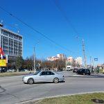 Билборд на пересечении ул. Советская / ул. Кожара (сторона А)