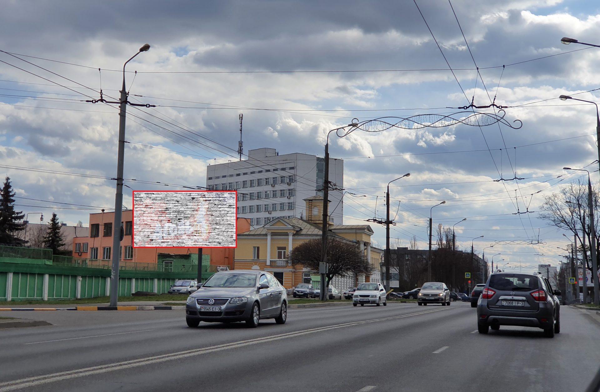 """Билборд по ул. Ефремова, """"Конечная троллейбусов"""" (сторона Б)"""