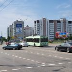 Билборд по ул. Мазурова — ул.Кожара (А)
